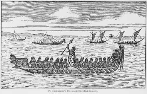 Te Rauparaha approaches Kaiapoi