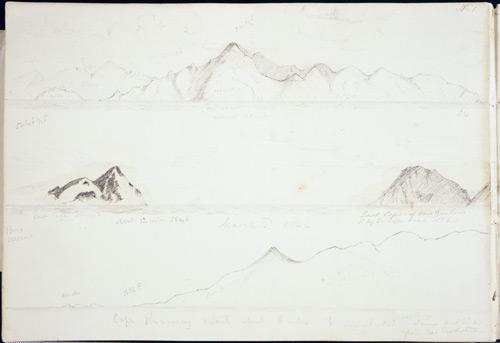 Cape Brett, East Cape and Cape Runaway