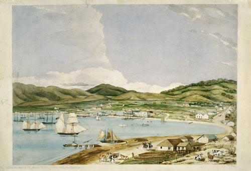 Te Whanganui-a-Tara i te tau 1841