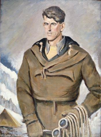 Portrait of Edmund Hillary