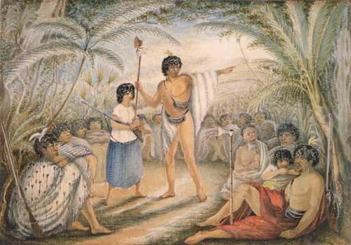 He kōrero mō te riri ('The war council')