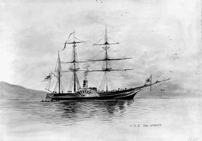 'HMS the Acheron'