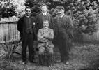 William Baucke, Frederick Bennett, Peter Buck and Tai Mitchell, 1907