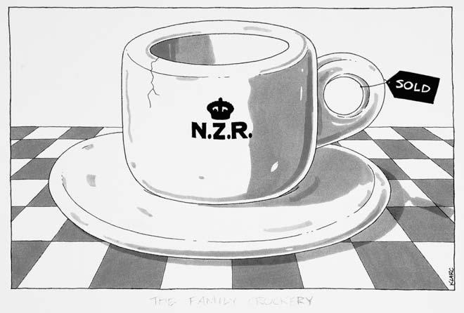 Sale of New Zealand Rail, 1993