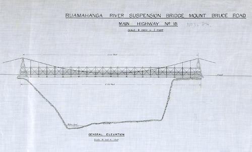 Ruamāhanga River bridge plan