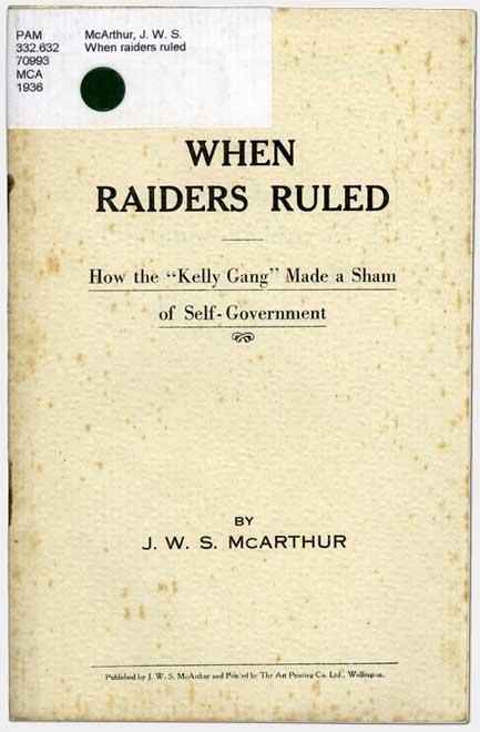 John McArthur's pamphlet