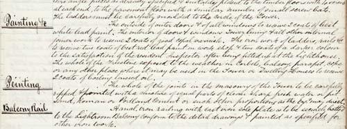 James Balfour's notes
