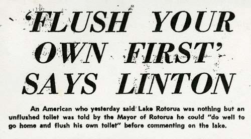Lake Rotorua debate