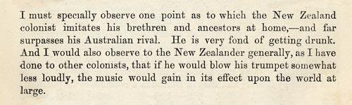 Anthony Trollope's Australia and New Zealand, 1873