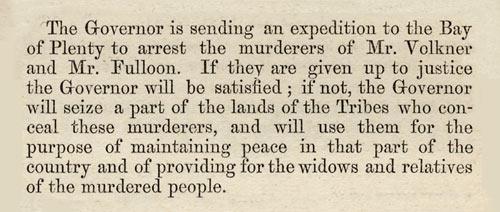 Proclamation of peace, 1865