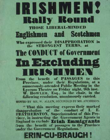 Protest leaflet