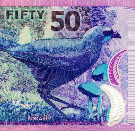 Mushroom on banknote