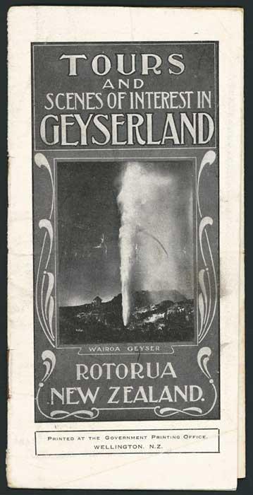 Rotorua brochure