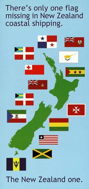 Seafarers' union poster