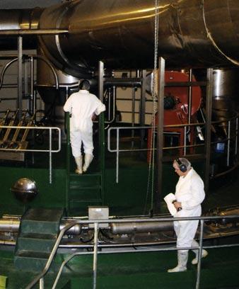 Processing milk in Awarua, Southland