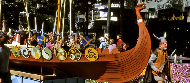 Scandinavian parade, Wellington, 2003