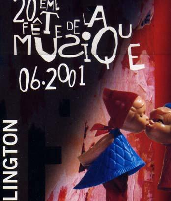 'Festival of music' poster, 2001