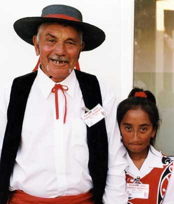 Descendants of Spanish settler Manuel José