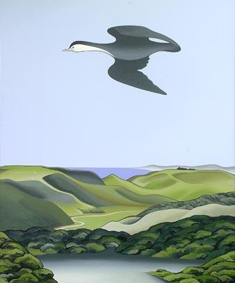 'Kawaupaku, Te Henga' by Don Binney