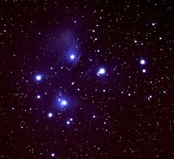 Matariki (the Pleiades) star cluster