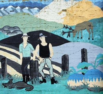 Lumsden mural