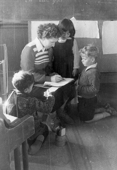Sylvia teaching