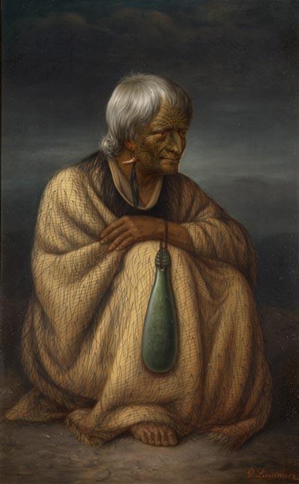 Te Horetā by Gottfried Lindauer