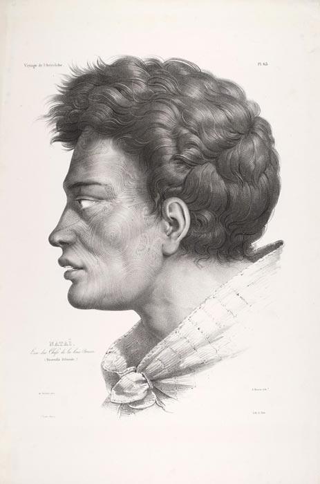 He whakaahua o Natai, i 1833