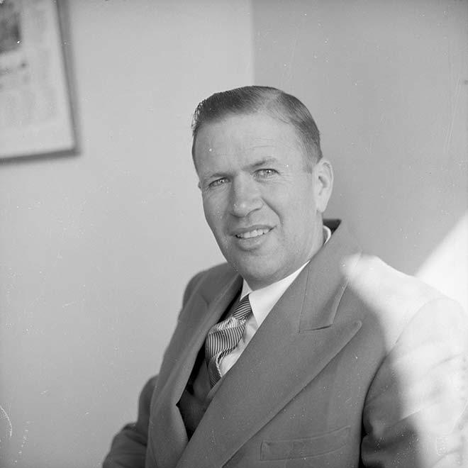 John Cowie, 1955