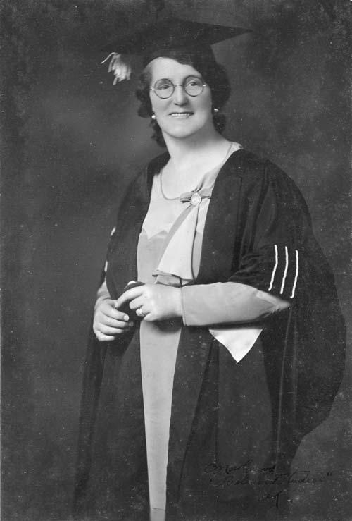 Mary Manson Dreaver, 1934