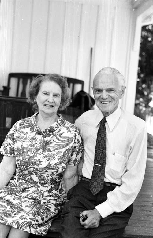 Robert Falla and his wife, Molly