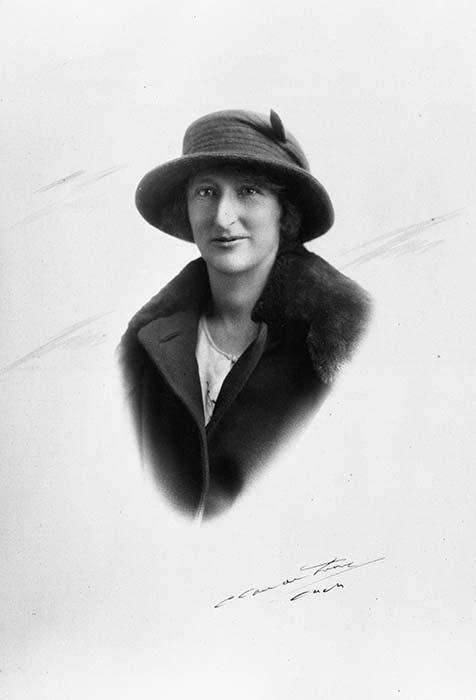 Alice Esther Glen, children's writer, probably during the 1920s