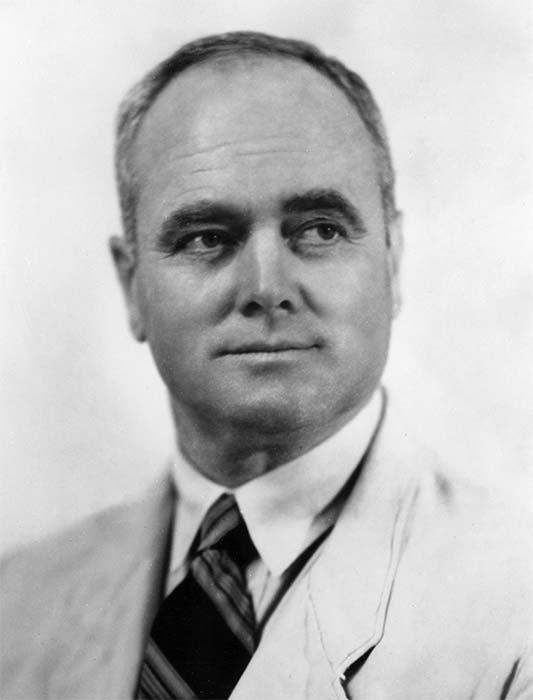 Architect James Augustus Louis Hay, who helped rebuild Napier after the destructive 1931 earthquake