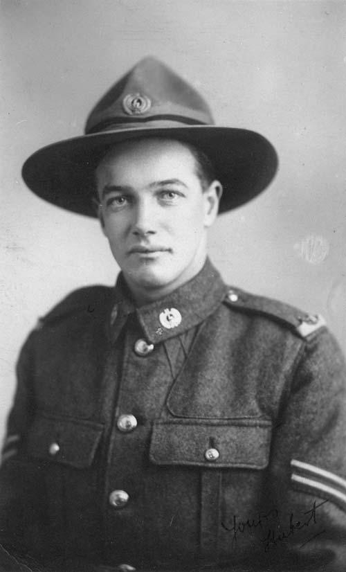Hubert Holdaway, 1916