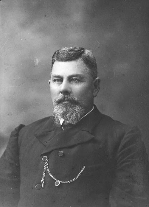 Pehr Ferdinand Holm, about 1901