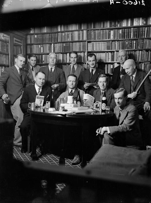 Wellington writers, 1936