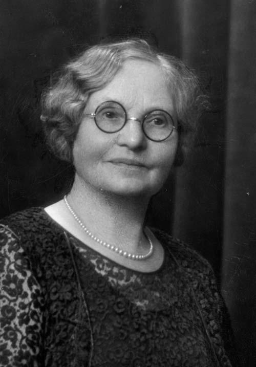 Margaret Lorimer, principal of Nelson College for Girls, 1926