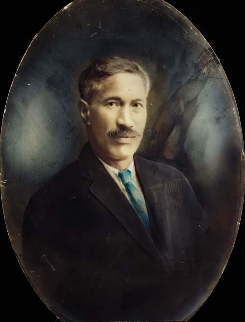 Portrait of Ōtene Pāora, 1920s