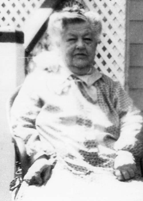 Amelia Randall, about 1915