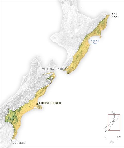 Leeward ecoregion