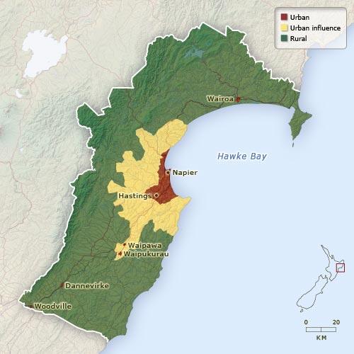 Hawke's Bay population
