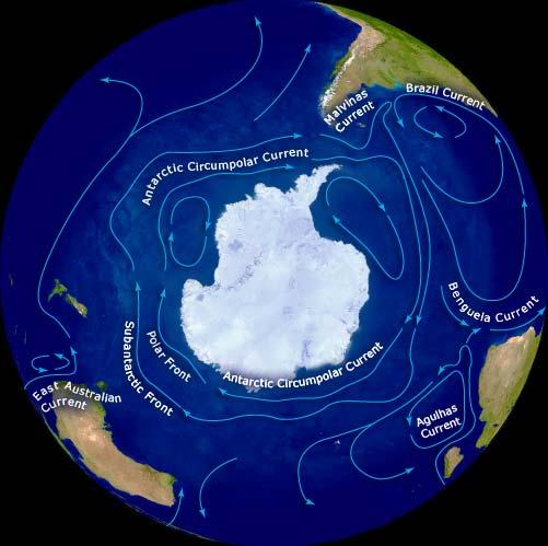 Circumpolar currents