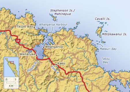 Whangaroa and district