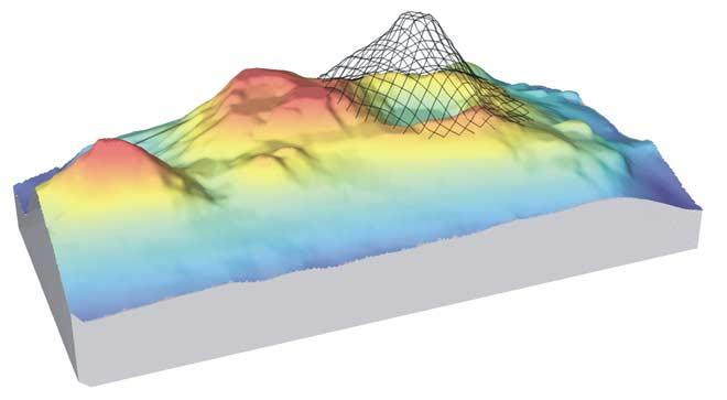 Healy volcano