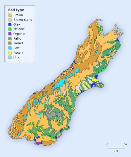 South Island soils