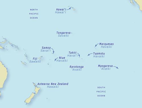 The naming of Hawaiki
