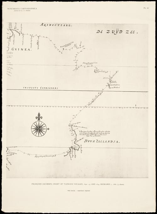 Map of Nova Zeelandia