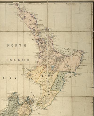 Ngā porowini o Aotearoa i te tau 1867