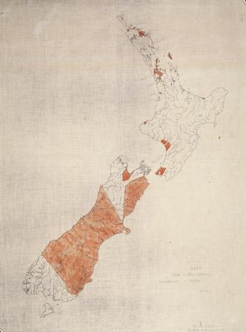 Te rironga o ngā whenua Māori, 1850