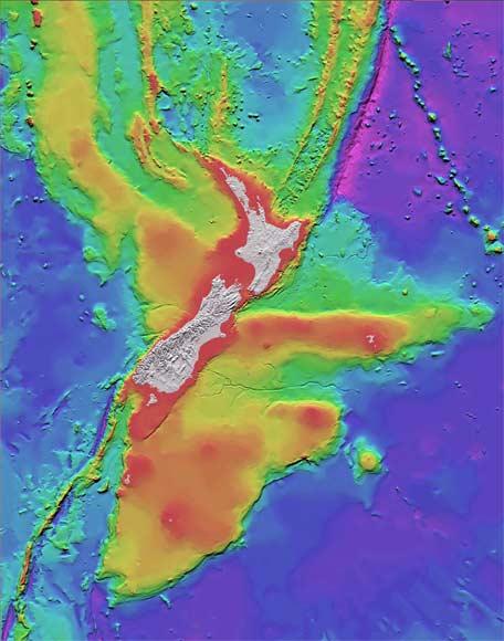 Undersea New Zealand